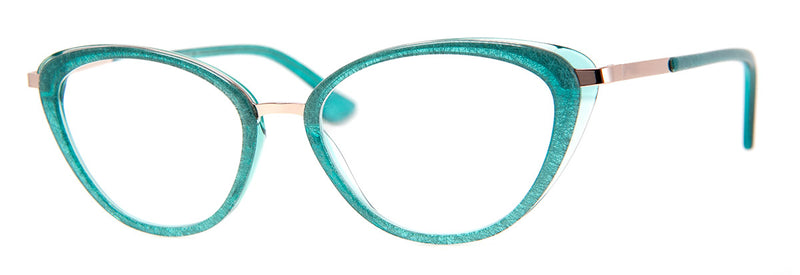 Teal - Optical Quality | Cute Cat Eye Reading Glasses