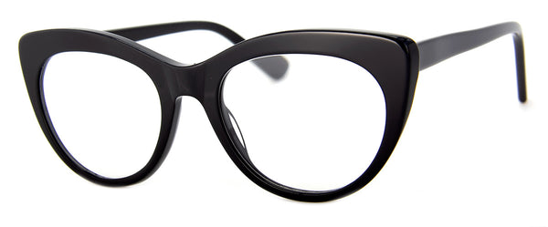 Black - Hip Cat Eye Reading Glasses