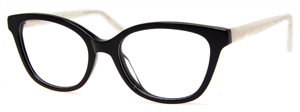 Black/Pearl - RX-able | Stylish, Cat Eye Reading Glasses for Women