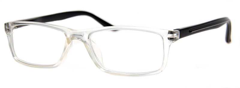 Crystal - Mens, Womens, Hip, Stylish, Rectangular, Vintage Reading Glasses