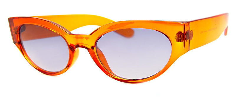 Dark Orange – Cute Cat Eye Sunglasses