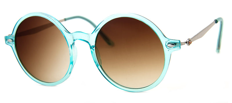 Mint - Hip Round Girls Sunglasses