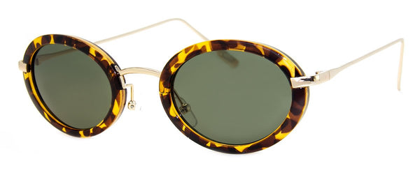 Tortoise - Small, Round, Mens & Womens Sunglasses