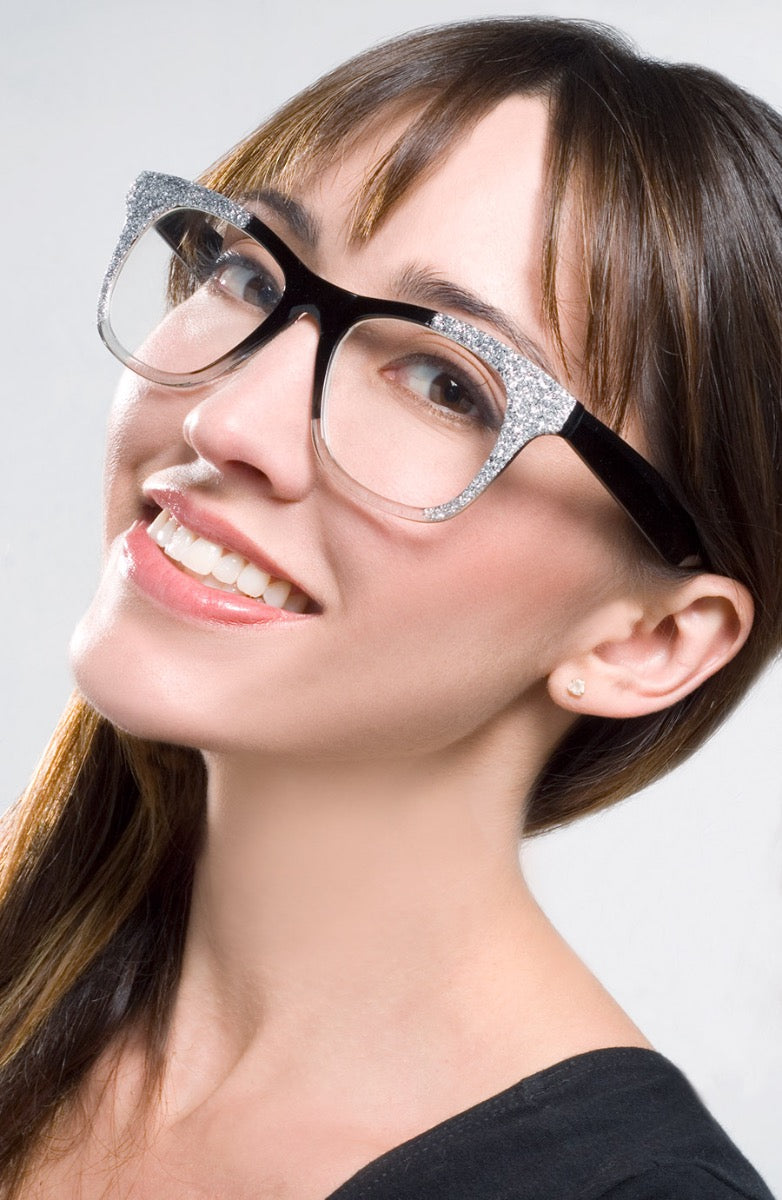 Womens Fake Reading Glasses