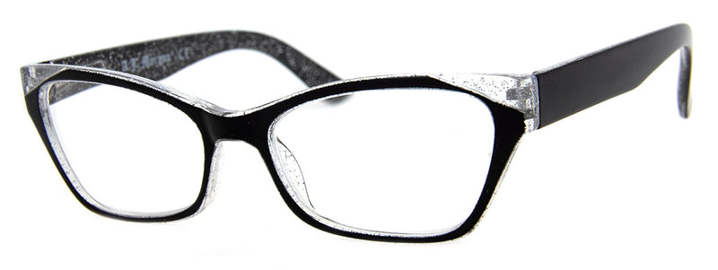 Black – Funky, Designer Cat Eye Womens Readers
