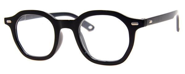 Black - Funky, Mens & Womens, Designer Reading Glasses