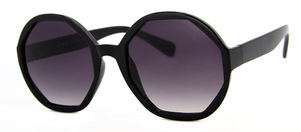 Black - Funky, Hip, Oversized Girls Sunglasses
