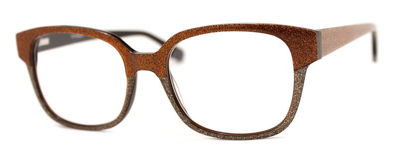Rust Brown - Hip, Stylish, Rectangular, Optical Quality Reading Glasses for Men & Women