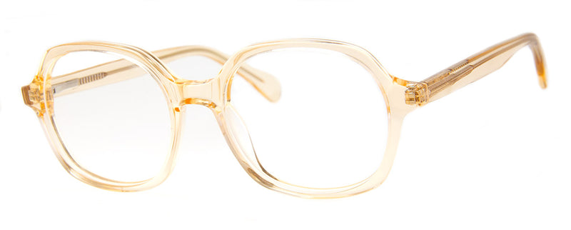 Champagne - Optical Quality | Hexagonal Shaped Reading Glasses
