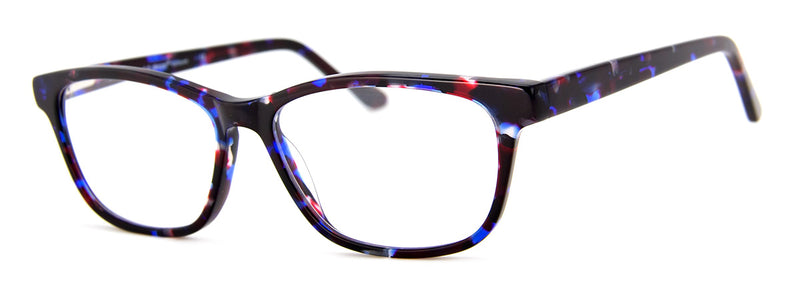 Blue - Hip Mens and Womens Rectangular Reading Glasses