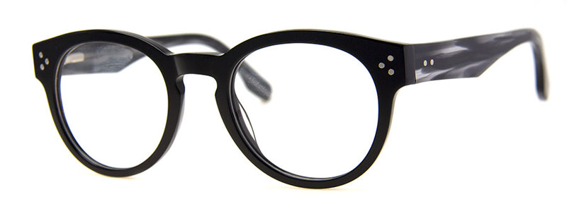 Black Hip Mens & Womens Optical Quality Acetate Reading Glasses