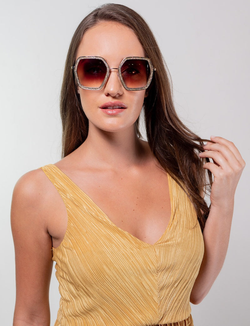 Glitter Sunglasses for Women