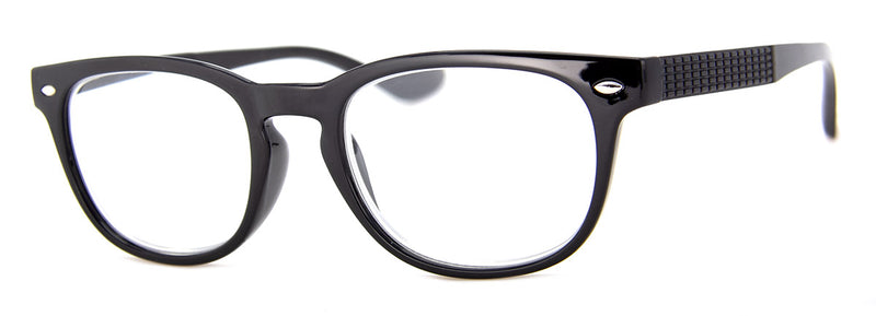 Black - Stylish, Mens & Womens Reading Glasses