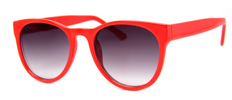 Red Classic Hip Sunglasses for Men & Women