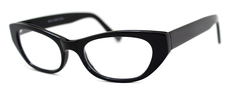 Black Cat Eye Reading Glasses | Optical Quality