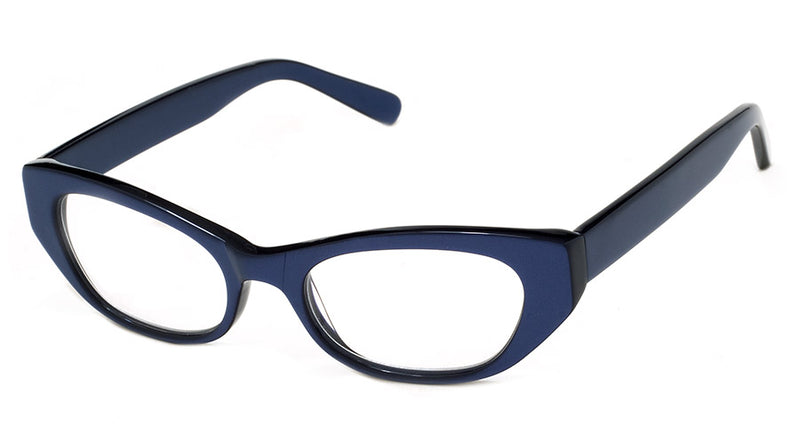 Blue - Optical Quality | Cute Cat Eye Reading Glasses