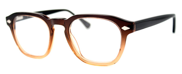 Brown - Hip, Stylish, Rectangular, Optical Quality Reading Glasses for Men & Women