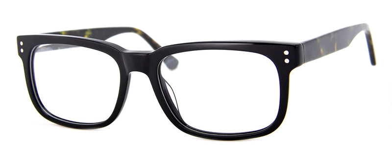 Black - Mens, Womens, Hip, Stylish, Rectangular, Optical Quality Reading Glasses
