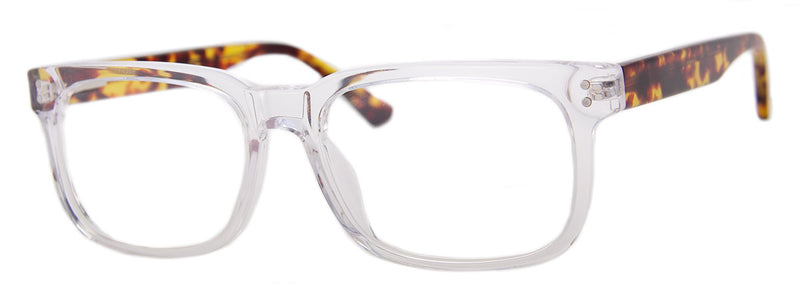 Crystal/Tortoise - Mens, Womens, Hip, Stylish, Rectangular, Optical Quality Reading Glasses