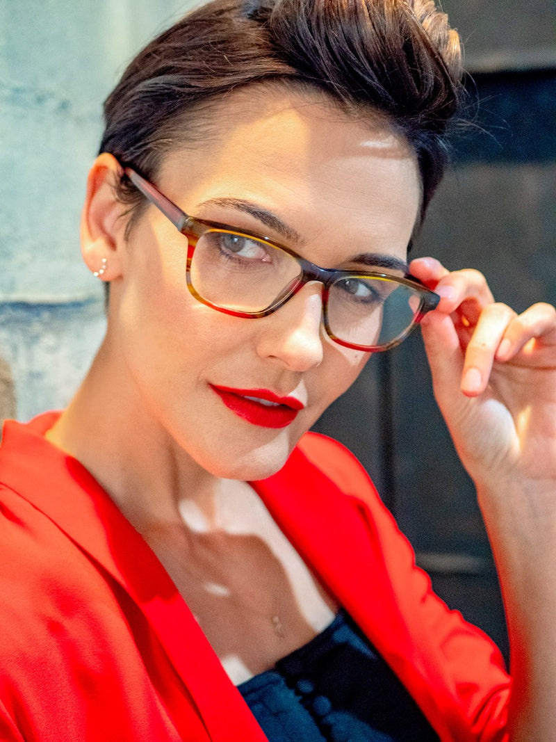 Hip, Stylish, Rectangular, Optical Quality Reading Glasses for Men & Women