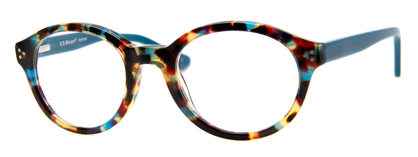 Blue Multi - Hip Round Reading Glasses for Women & Men
