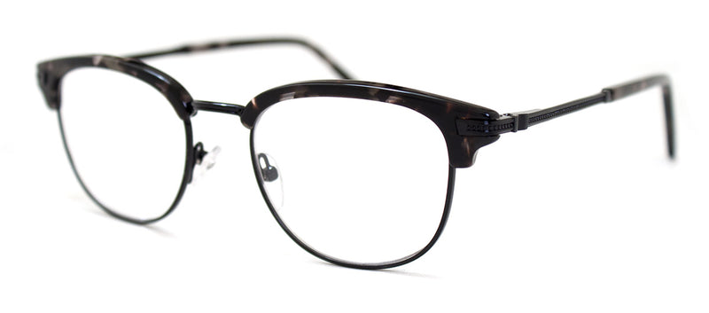 Black Multi - Hip, Stylish, Rectangular, Optical Quality Reading Glasses for Men & Women