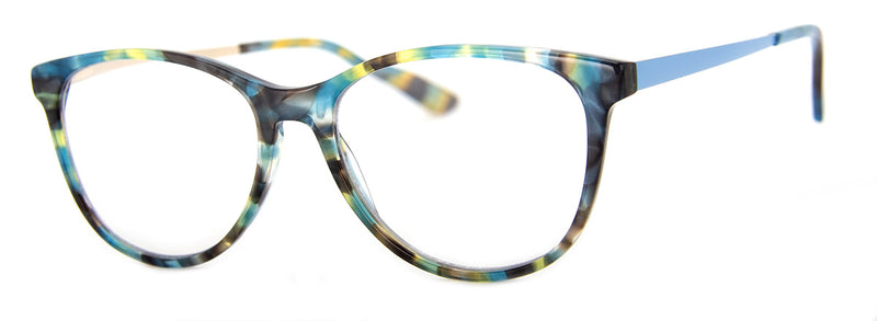 Teal Multi – Acetate | Optical Quality Cat Eye Reading Glasses