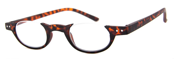 Tortoise - Small Circular Designer Reading Glasses
