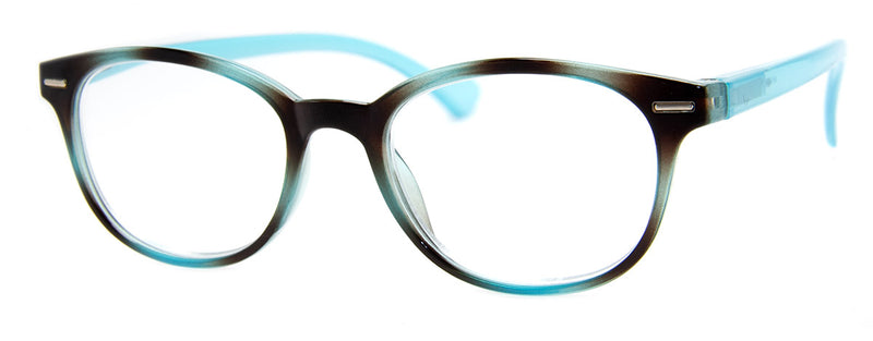 Blue Tortoise - Hip Reading Glasses