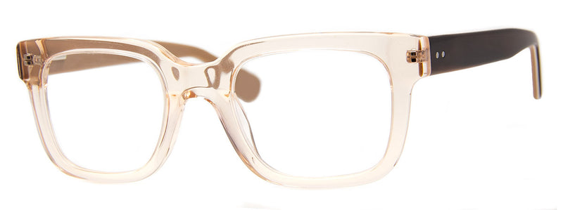 Champagne - Thick Framed Rectangular Reading Glasses
