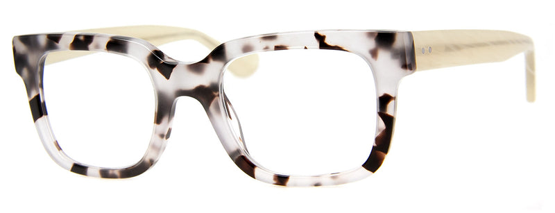 Leopard - Thick Framed Rectangular Reading Glasses