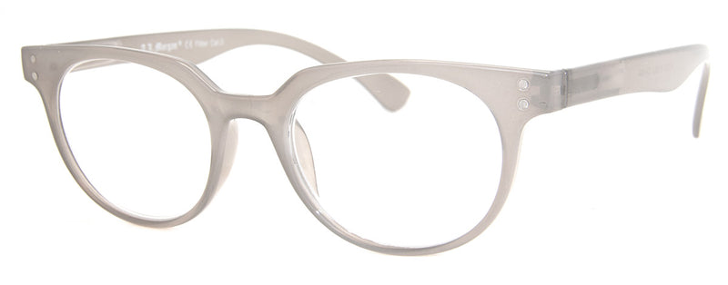 Grey Hip Reading Glasses for Men & Women