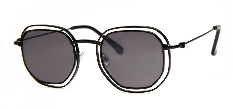 Black - Retro Sunglasses