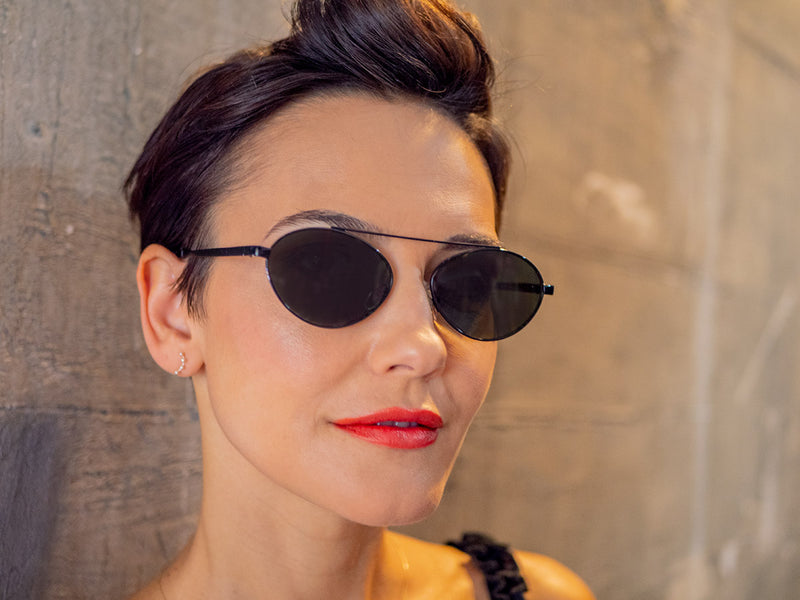 Round Metal Frame Sunglasses for Women & Men