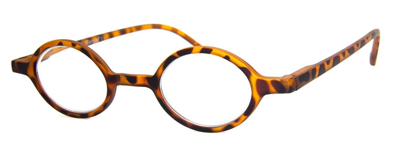 Tortoise - Sleek Round Reading Glasses for Men & Women