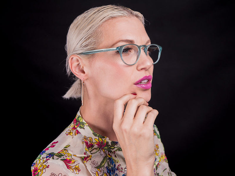 Womens Round Reading Glasses