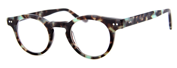 Blue Tortoise - High Quality Round Mens & Womens Reading Glasses