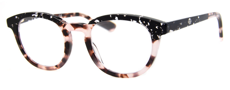 Grey Tortoise/Pink - Optical Quality | Two-Tone, Womens Reading Glasses
