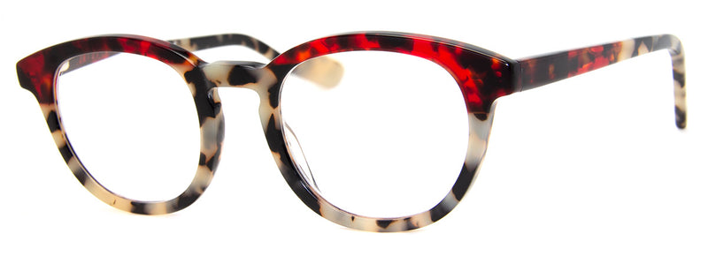 Red Tortoise/Leopard - Optical Quality | Two-Tone, Womens Reading Glasses