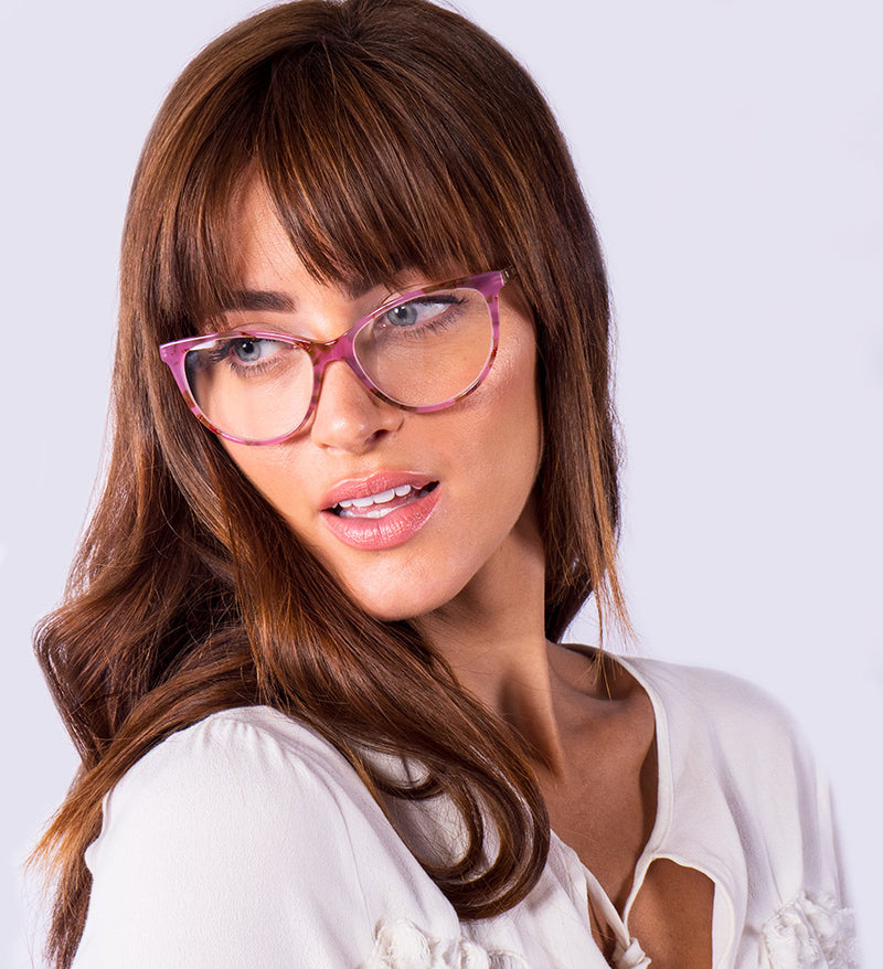 Womens Stylish Cat Eye Reading Glasses