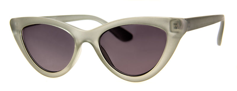 Grey - Sunglass Readers in a Vintage, Cat Eye Frame for Women