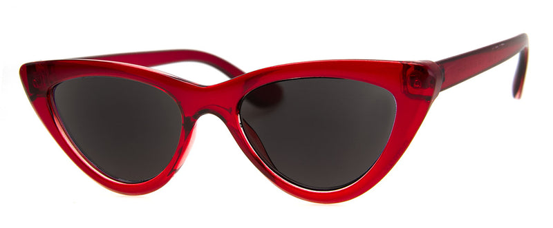 Red - Sunglass Readers in a Vintage, Cat Eye Frame for Women