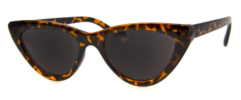 Tortoise - Sunglass Readers in a Vintage, Cat Eye Frame for Women
