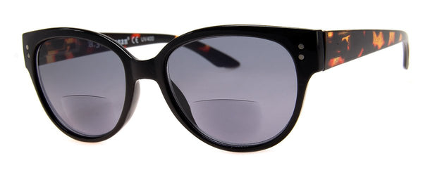 Black - Bifocal Sunglass Readers