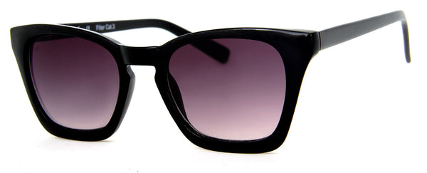 Black - Sunglass Readers in a Cat Eye Frame for Women