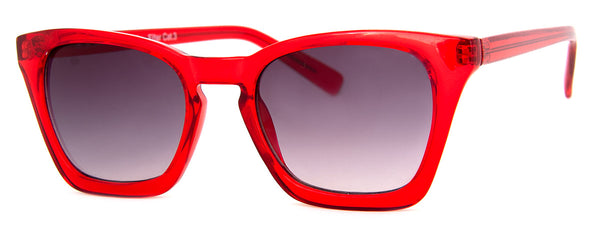 Red - Sunglass Readers in a Cat Eye Frame for Women