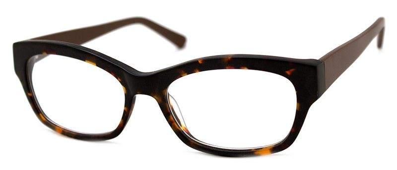 Matte Tortoise Hip Thick Frames Optical Reading Glasses for Men & Women