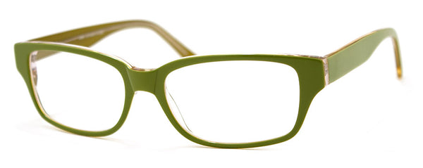 Green - Hip, Stylish, Rectangular, Optical Quality Reading Glasses for Men & Women