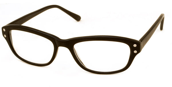 Black Optical Quality Cat Eye Reading Glasses