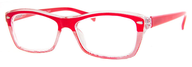Red - Cute, Two-Tone, Womens Reading Glasses